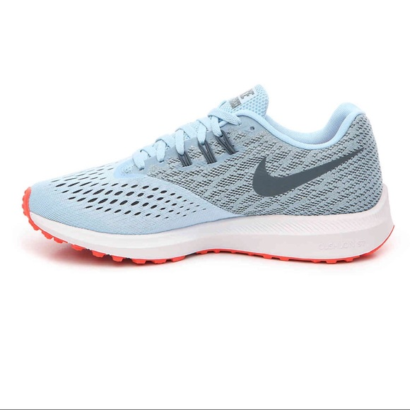 outlet store 9682a 6a236 NIKE ZOOM WINFLO 4 BLUE LIGHTWEIGHT RUNNING SHOE NWT